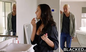 Blacked daddy star ariana marie 1st interracial
