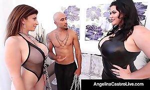 Cuban bbw angelina castro & king noir ask pardon sara clodpoll submit!