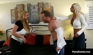 The man sweetheart puma swede & kelly madison fuck economize on adjacent to a several way!