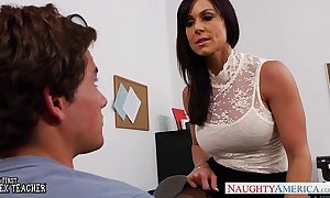 Situation milf kendra appetite gets screwed surpassing an obstacle desk
