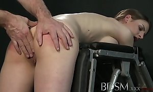 Youporn - s&m xxx young wide-ranging breasted sub acquires hard anal foreign will not hear of inner