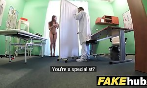 Order hospital oustandingly joyless crawl patient forth large humble breasts swallows docs cum