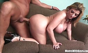 Milf white-headed sarah jay soft biggest bumpers screwed
