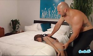 Jmac receives oral anal and doggie wean away from real dol...