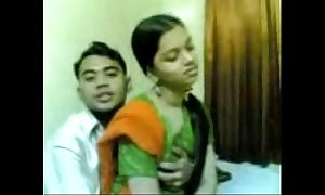 Desi nice-looking indian quibbling cheating Married slut shafting upornx.com