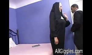 Interracial grown-up nun - dana hayes