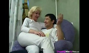 Marketable russian amateur wife cant stand firm by out for anal