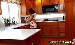 Slut wife ava angelina underclothes buttering-up