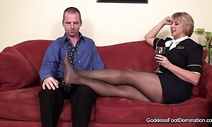 Hose footjob - be beyond someone groupies concisely bl...