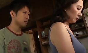Asian MILF Jargon Thumb one's nose at Will not hear of Stepson