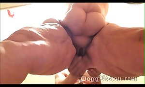 Busy Video 56y Anal Fit together GILF Wide Haunches BBW Amber Connors