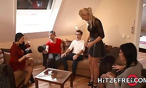 Hitzefrei flaxen-haired german newborn helena moeller fucked gaping void
