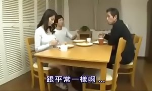 Japanese Oriental Mama Cheating adjacent to their way Youthful Young gentleman