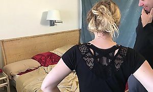 Stepmom gives stepson a cook jerking explore skimp dies - Erin Electra