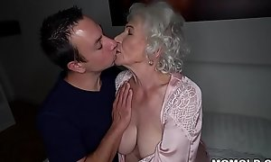Fright quiet, my husband'_s sleeping! - Cane granny porn ever!