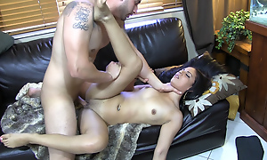 Cock-smacked and drilled raw