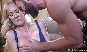 Leap huge tits milf ruptured and drilled