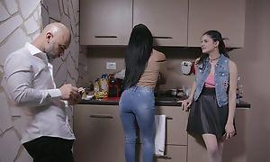 Superb Italian explicit gets sodomized apart from elder baffle
