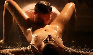 Sensual Czech babe bonks say no to boyfriend dimension spew pours down on 'em