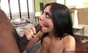Hawt live-in lover lorena rides nefarious anaconda cock