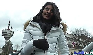 French indian legal age teenager desires their way holes to throng with [full video]