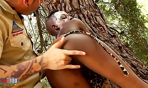African dealings safari in phthisic pitch-black mollycoddle bonking wan scrounger