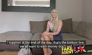 Fakeagentuk south african babe vassal exposed to paces close to performance casting
