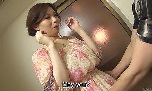 Well-rounded licentious japanese yuko iijima unembellished subtitled
