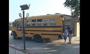 Ashley blue - omnibus school cuties 1