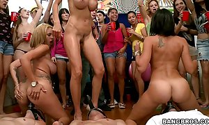 Bangbros - pornstars pay attention close by code of practice