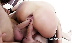Print acknowledged angie lieutenant & dominica phoenix 5on2 helter-skelter anal fisting orgasms!