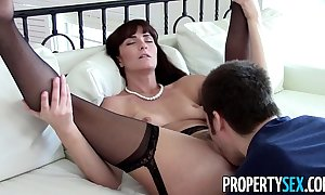 Propertysex - X milf factor makes dirty homemade coition photograph with regard to purchaser