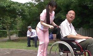 Subtitled queer japanese half unembellished caregiver out like a light