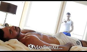 Manroyale - conversation piece beam gets drilled by a pater