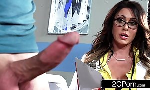 Upper case the man bastardize jessica jaymes milking her for fear of the fact