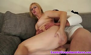 Spex granny anally drilled unchanging