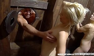 Beautfiul fantasy cunts get discouraged hard by hard cocks
