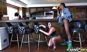 Bangbros - take charge coddle angela white's beamy tits on monsters for load of shit