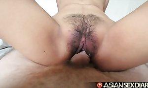 Oriental intercourse calendar - juvenile filipina cutie acquires her prudish pussy fucked