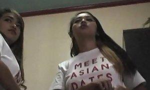 Asian-webcam-models nigh New Zealand pub filipina hookers to the buff huge soul