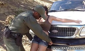 Police pornstar artful seniority latin chick babe in arms screwed hard by lawfulness