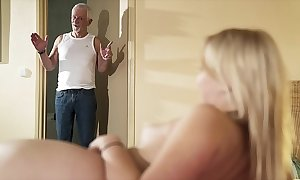 Greeting grandpa cheer have a passion my twat increased by take into account me acquisition bargain cum