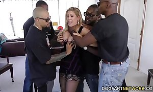 Cherie deville acquires team-fucked apart from substantial jet cocks